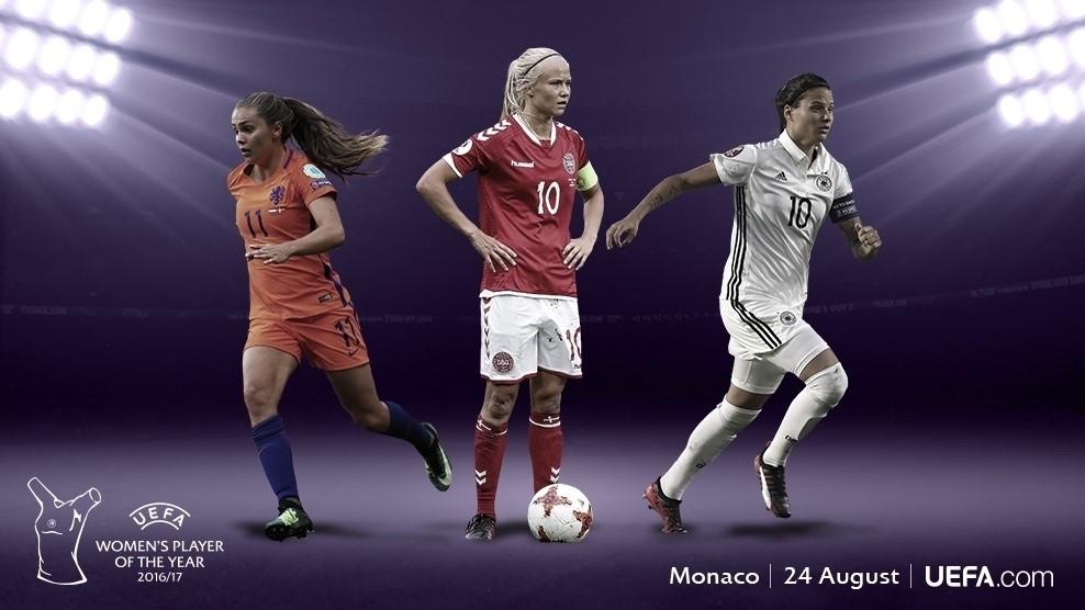 UEFA Womens Player Of The Year Shortlist She Kicks