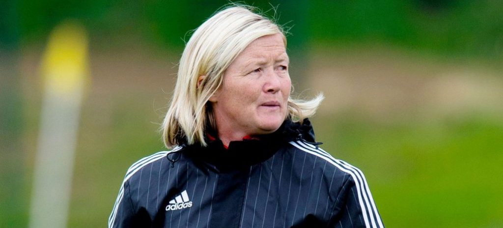 Scotland U-19 head coach Pauline Hamill