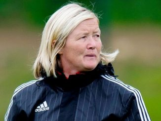 Scotland U-19 head coach Pauline Hamill