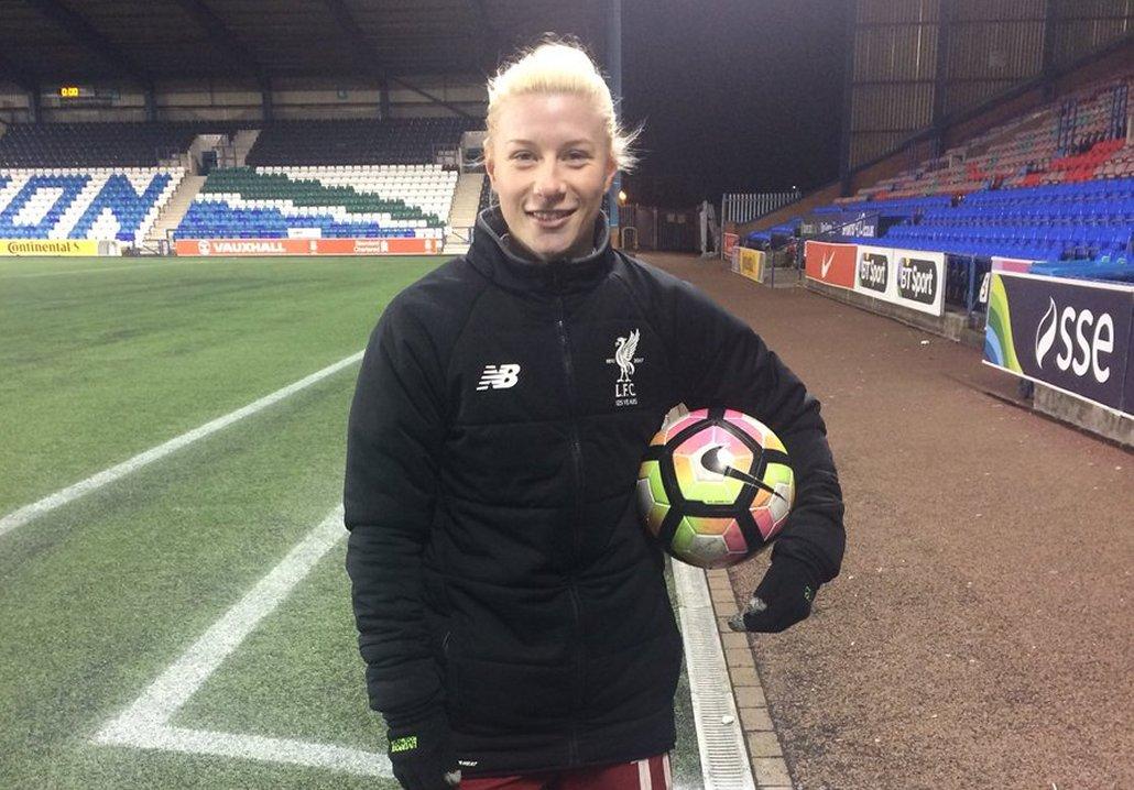 Beth England Grabs Four for Liverpool - She Kicks Women's