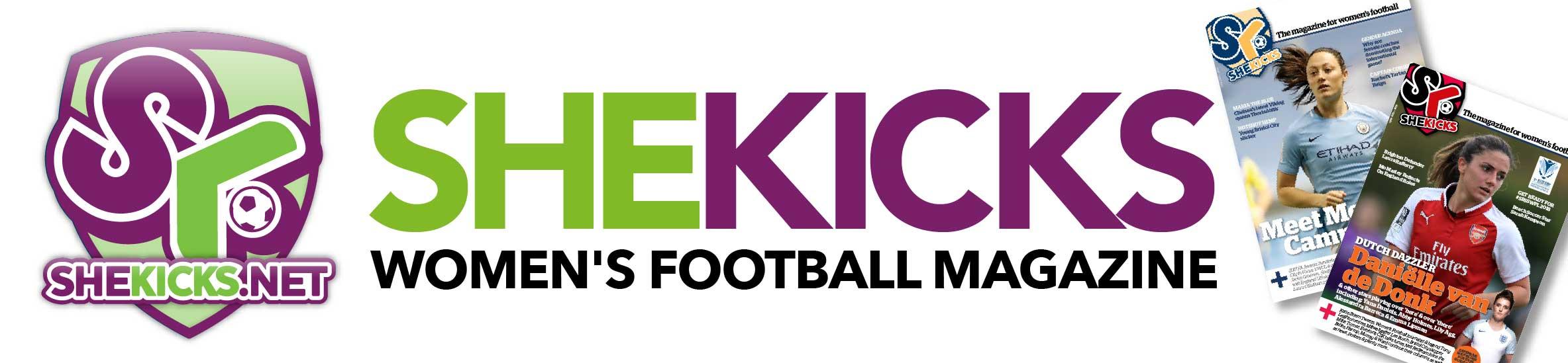 She Kicks Women's Football Magazine