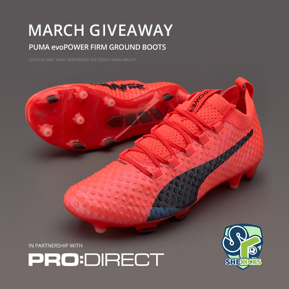 COMPETITION  March Boots Giveaway (PUMA evoPOWER FG Boots) - She ... 16e5f1d2fa