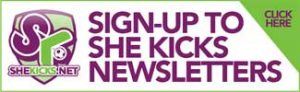 Purple and green sign up to SK Newsletter banner