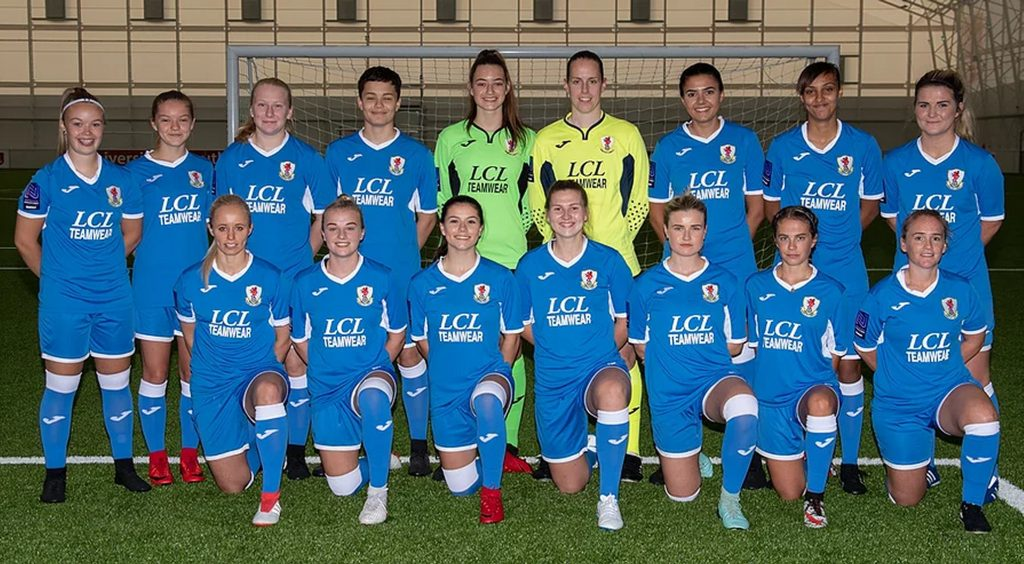 Fawnl Cardiff City Ladies Close In On Second Place She