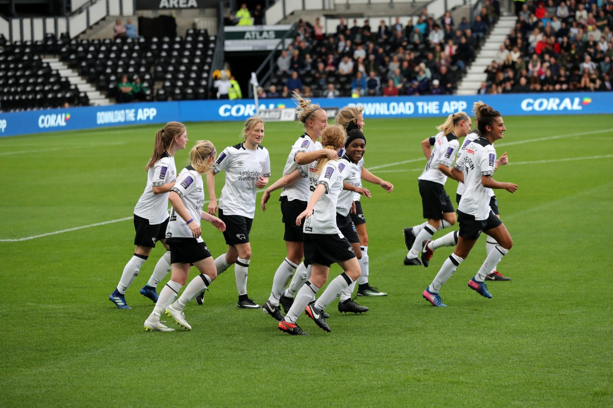 Derby County play at Pride Park