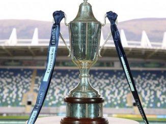 Danske Bank Women's Premiership trophy