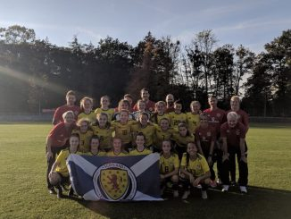 The Scotland U-17 side that qualified for the 2019 UEFA Elite Round