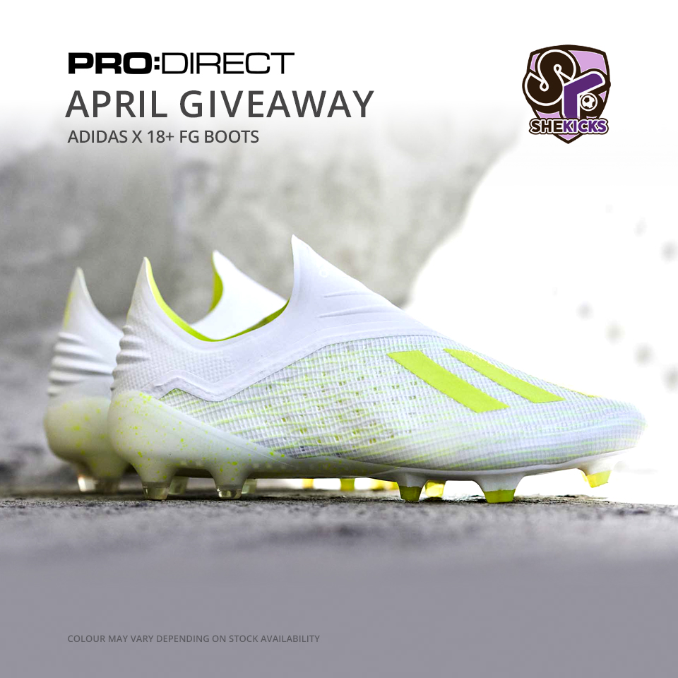 4ca1a5dcc COMPETITION: April Boots Giveaway (adidas X 18+ firm ground boots ...