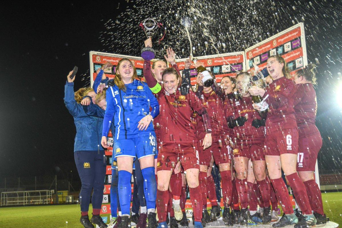 WPWL Cup holders, Cardiff Met