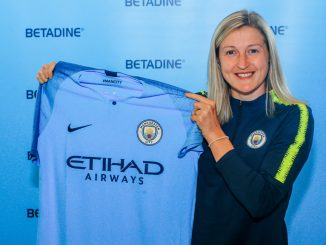 Ellen White signs for Manchester City.