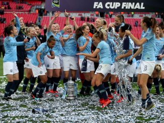 Manchester City women win FA Cup