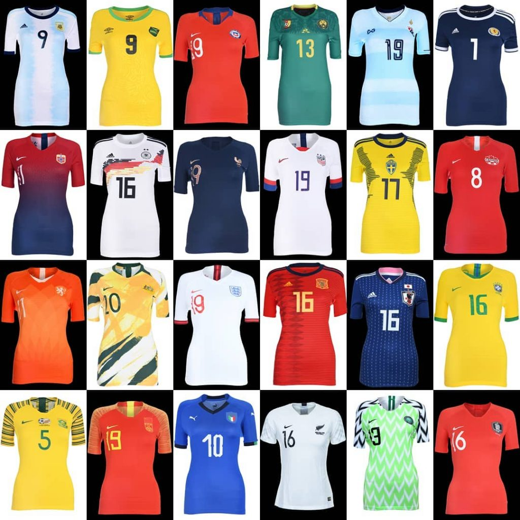 e1a7f0e0b5b ... to create a range of kits specifically for the women's teams – with a  better fit – and a nod to the cultures and heritages of those who don the  colours.