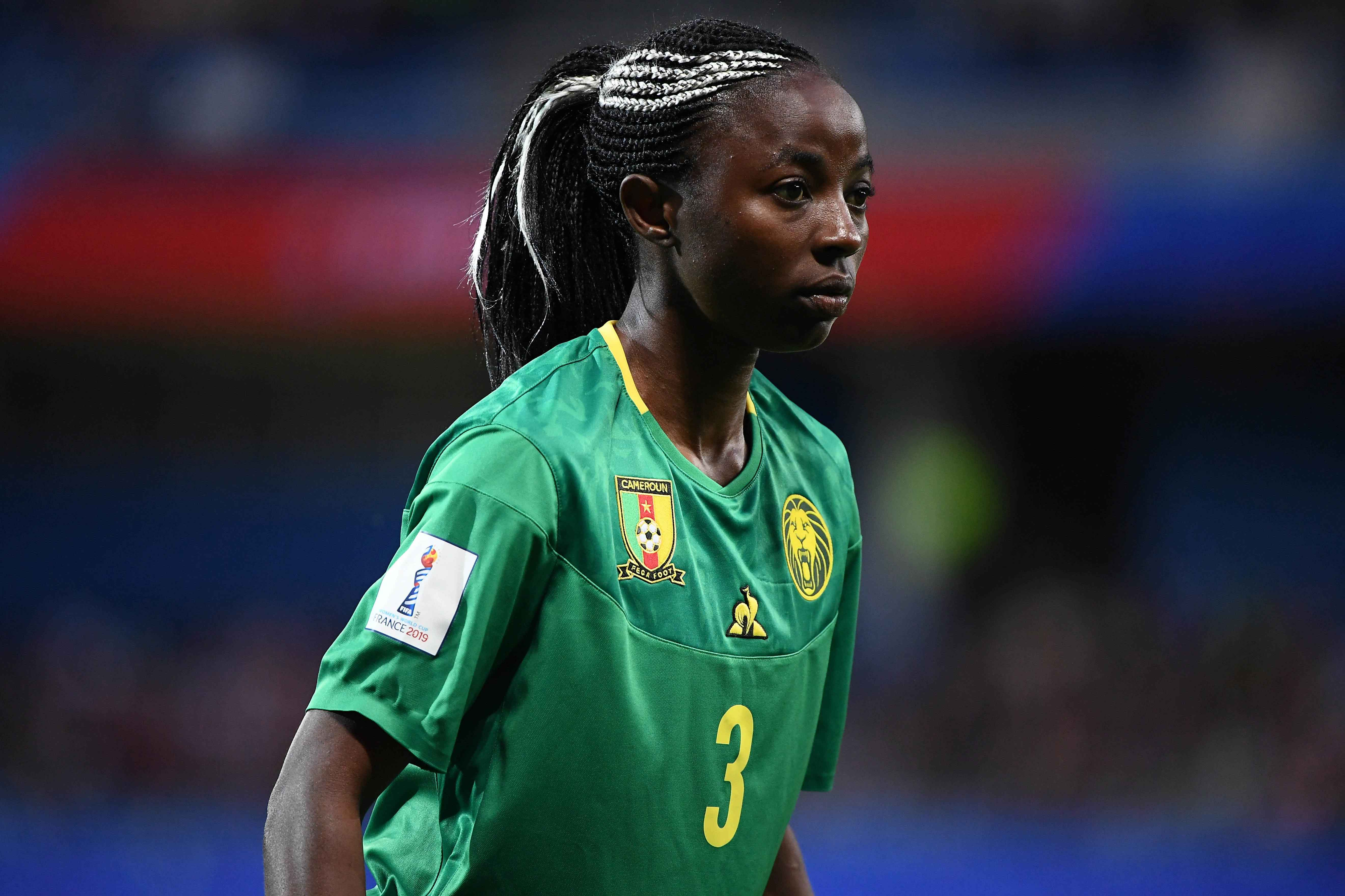Ajara Nchout's goal put Cameroon into Olympic qualifiying final