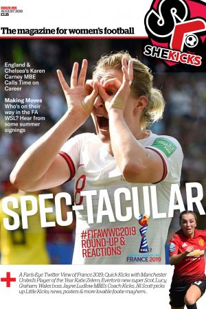 She Kicks Issue #55 with Ellen White on cover