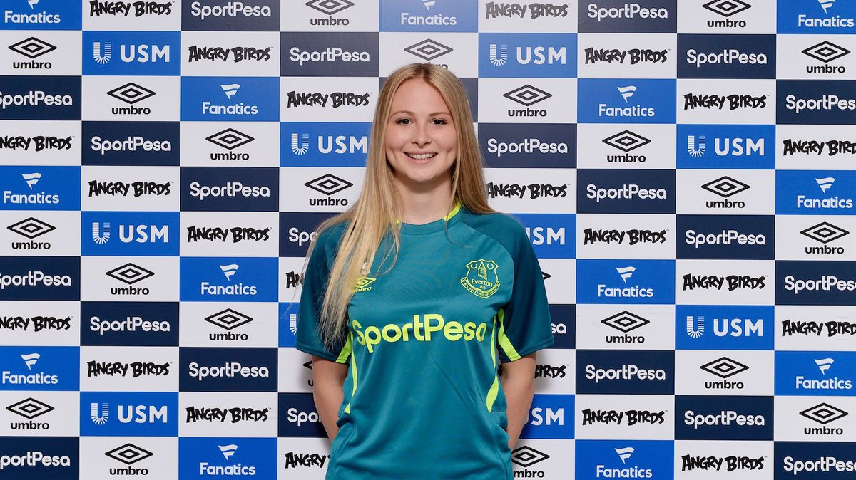Youth Everton Molly add international England  Pike Ladies