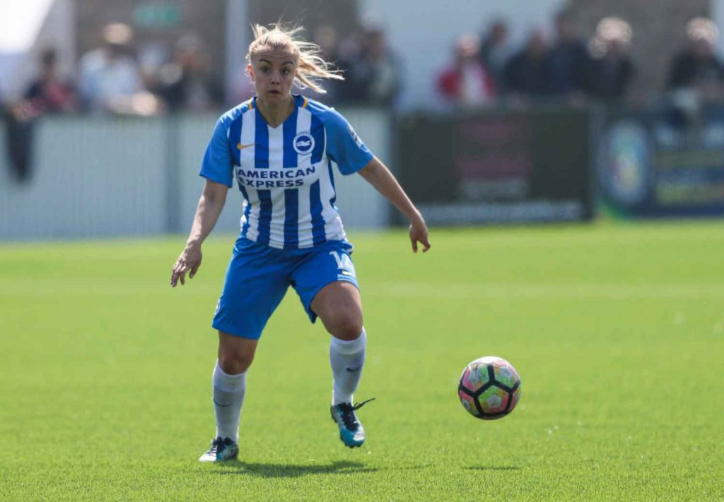 Charlton Athletic aign Jenna Legg from Brighton