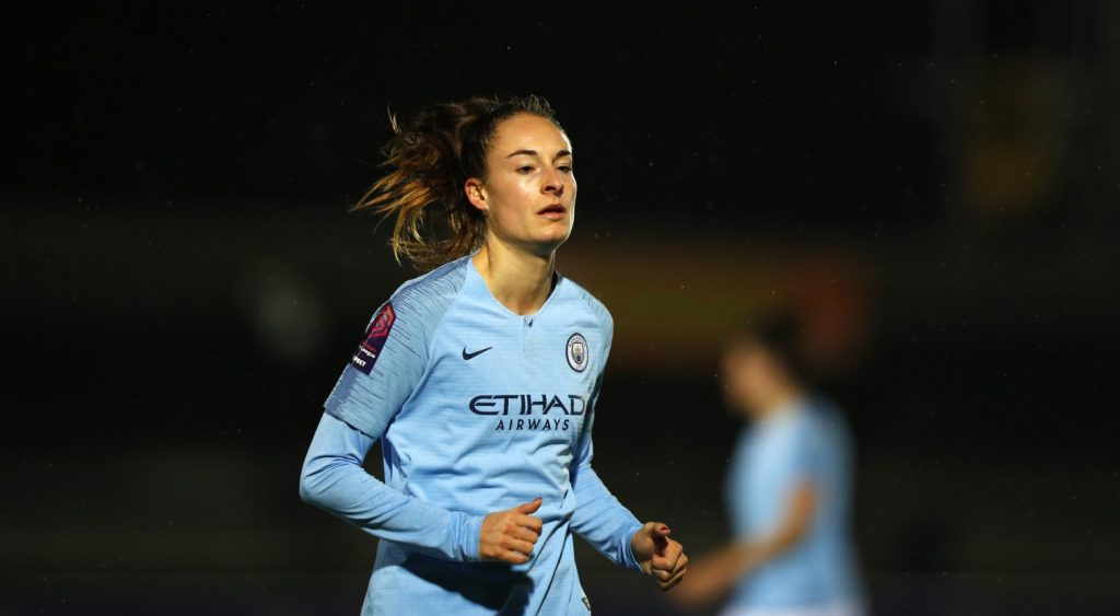 Manchester City's match-winner Tessa Wullaert