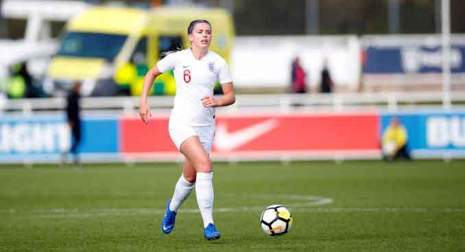 Georgia Eaton-Collins steps up from the U-19s to England U-21a