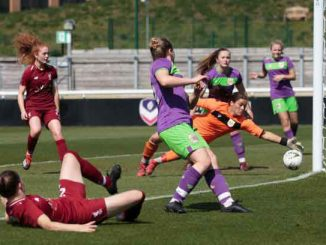 Blackburn Rovers new signing Lauren Thomas scoring for Liverpool Academy.