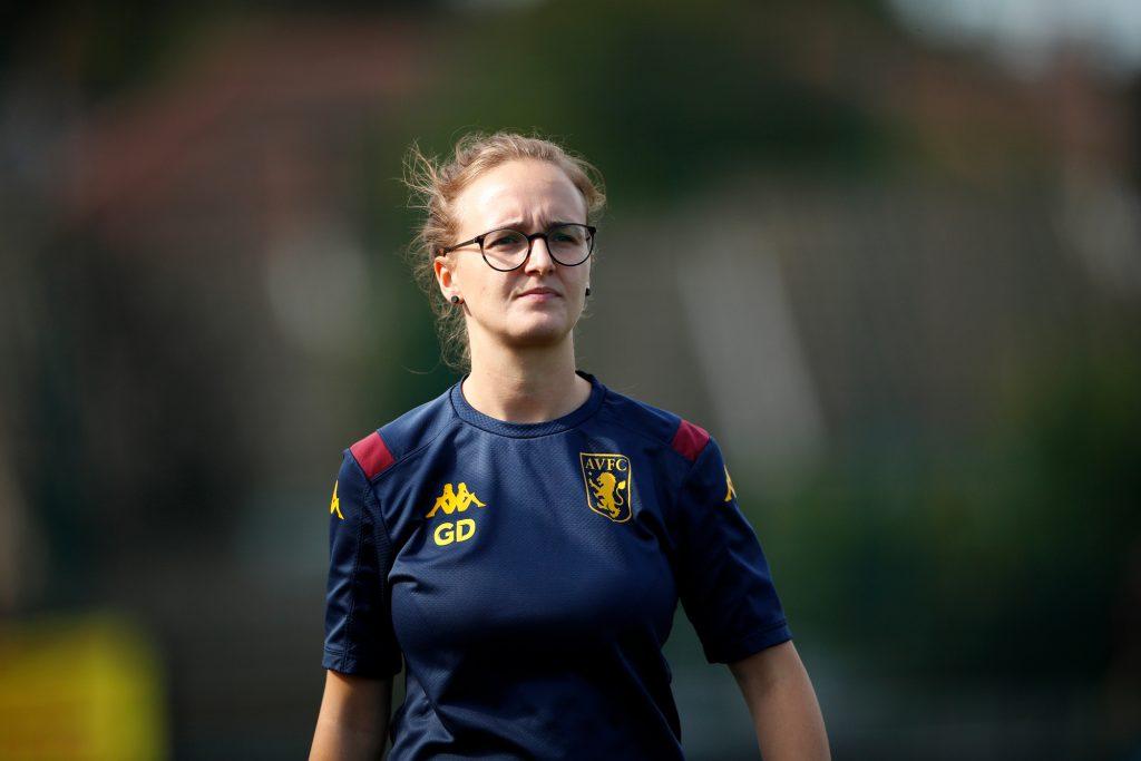 Gemma Davies head coach of Aston Villa Women