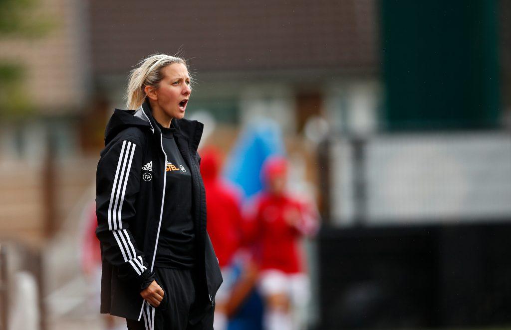 Carla Ward head coach of Sheffield United Women