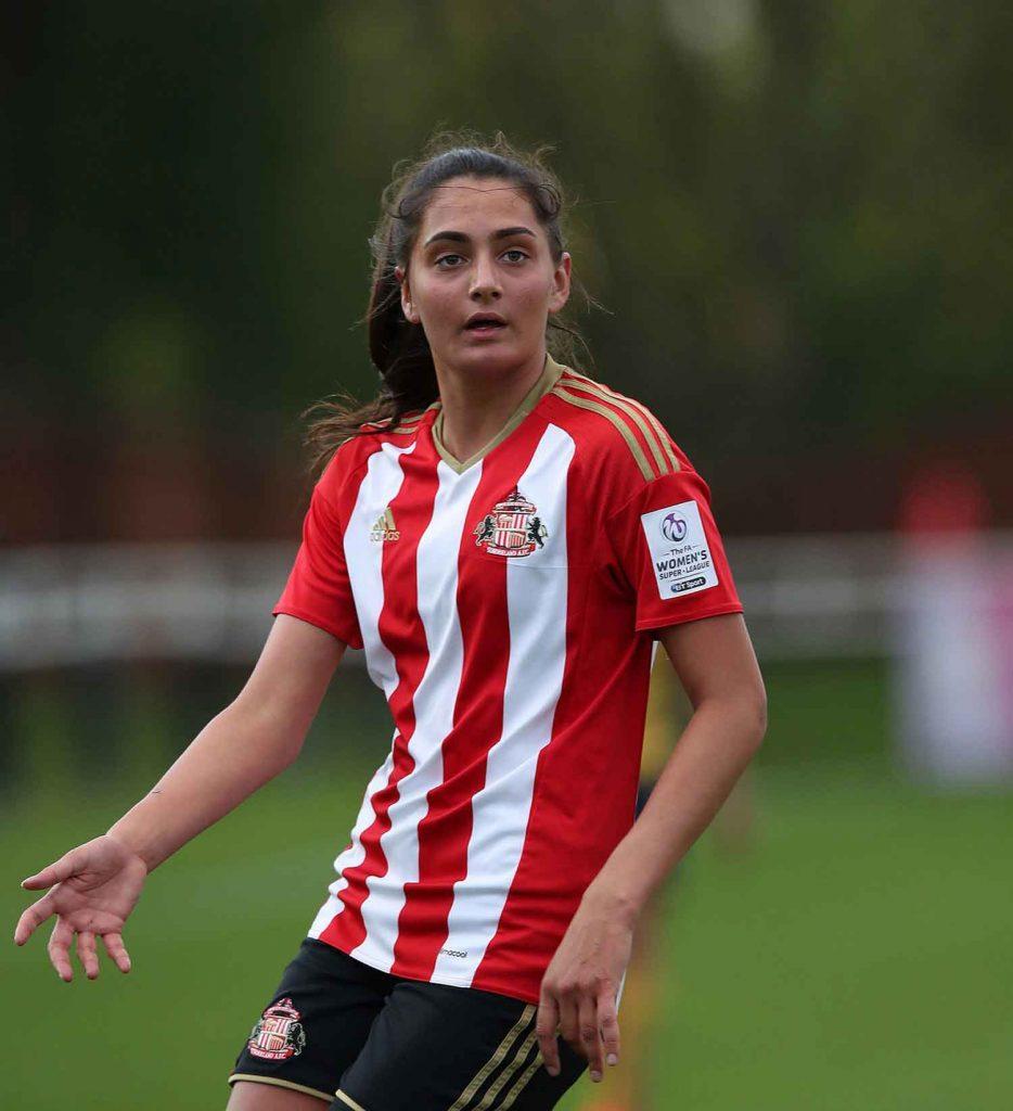 Sunderland's Mollie Lambert