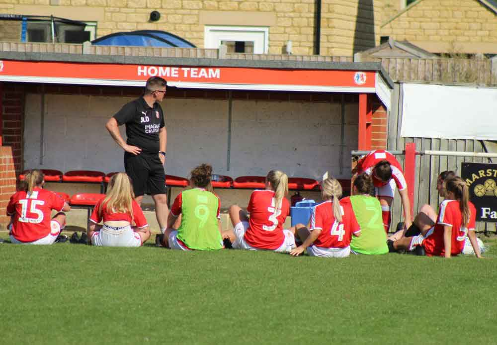 Swindon Town Women;s new manager