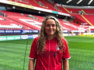 Charlton Athletic Women's new signing Charlie Devlin,