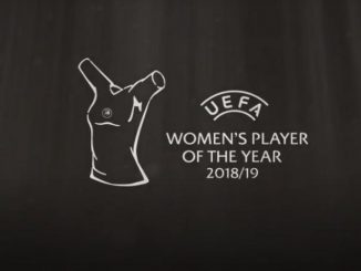 UEFA Women's Player of the Year 2018-19 backdrop