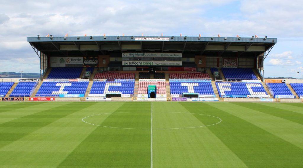 Caledonian Stadium will host the first ever Higlands & Islands League Cup Final.