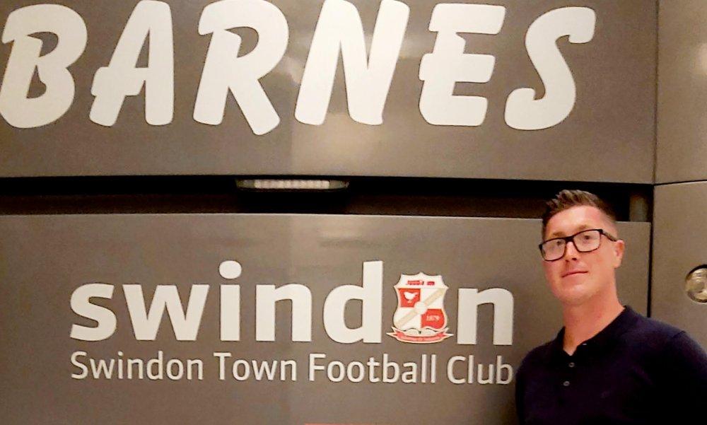 New Swindon Town Women;s Managet, Jamie Lloyd Davies