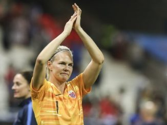 Norway's vetern keeper Ingrid Hjelmseth retires.