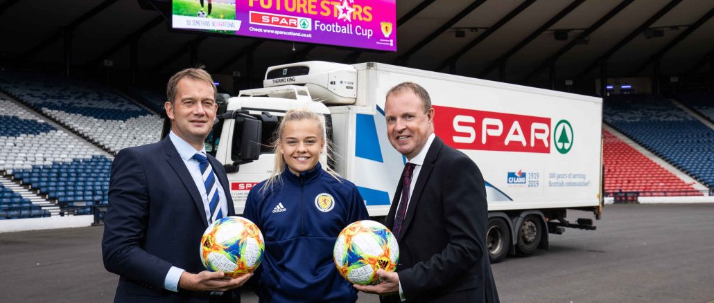 SPAR back Scottish girls' & women's football