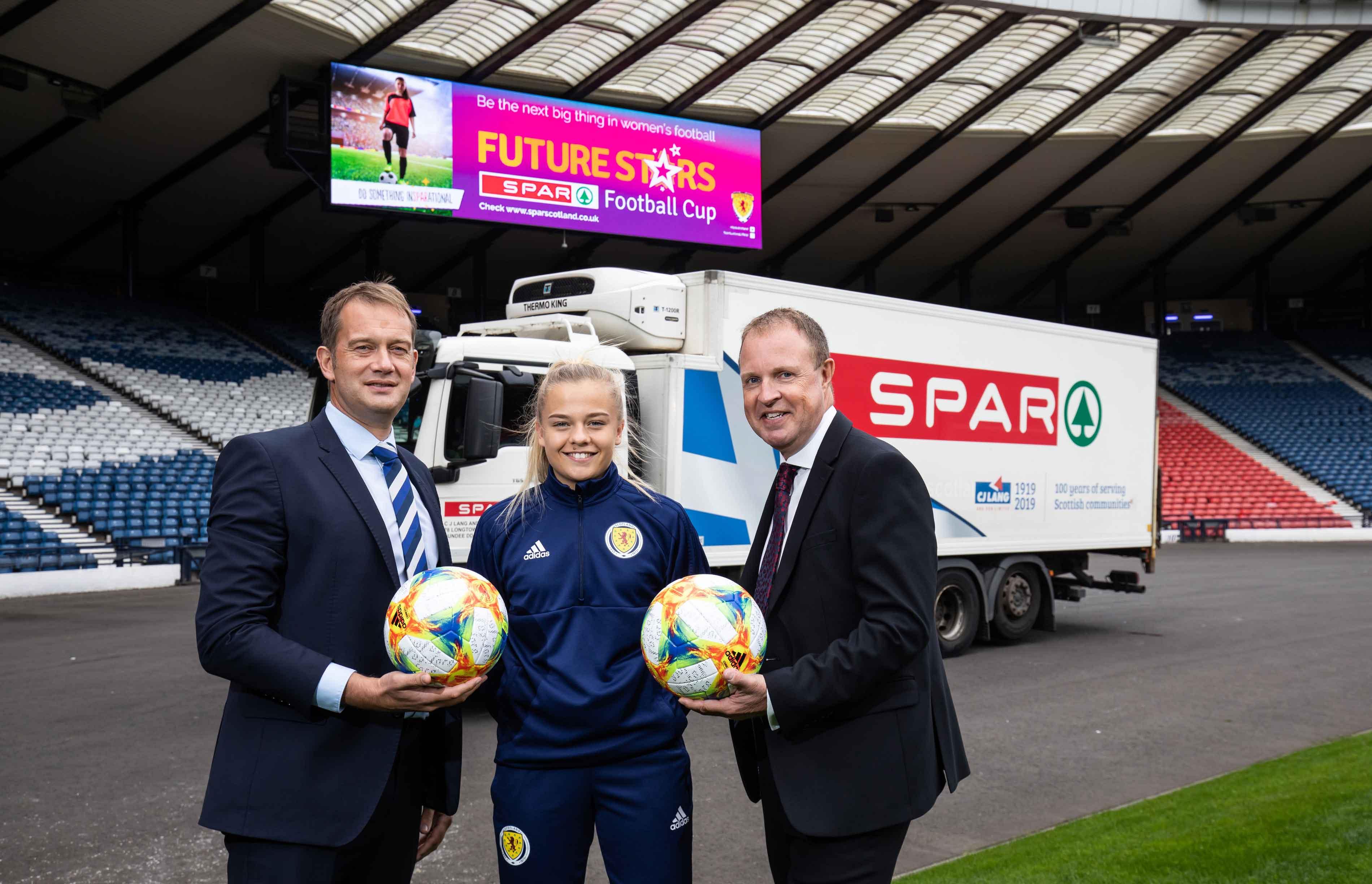 SPAR back Scottish girls' & women's football