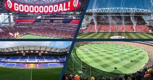 Atalants, Toronto, New York and MCG Stadiums
