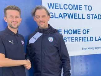 Chesterfield FC Women's new manager, Graham Abercrombie