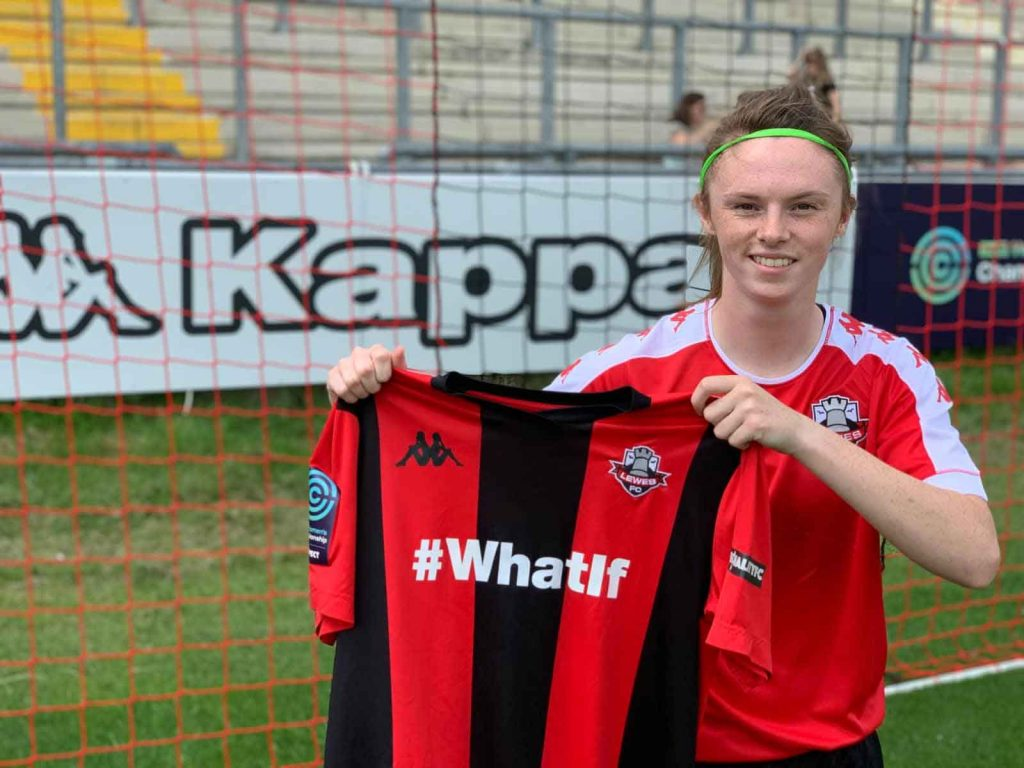 Northern Ireland youth international Annie Tominey joins Lewes.