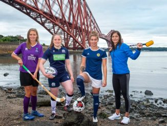 cottish sportswomen at Forth brifge===dge.