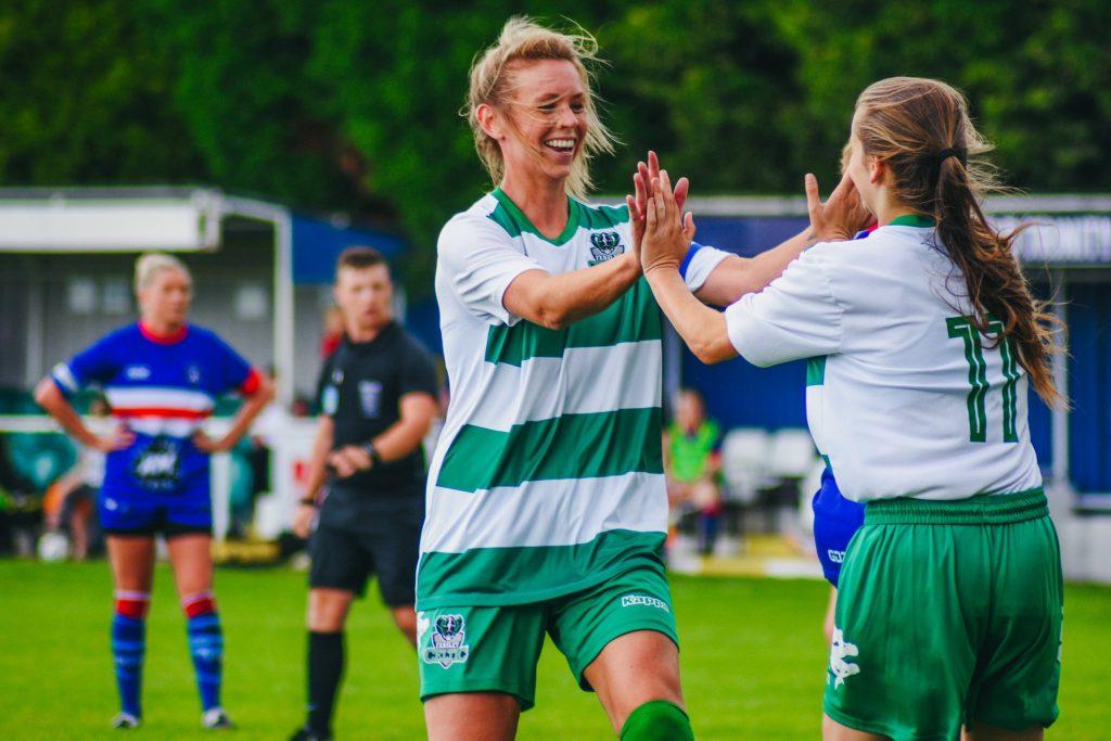 Farsley Celtic goal celebrations