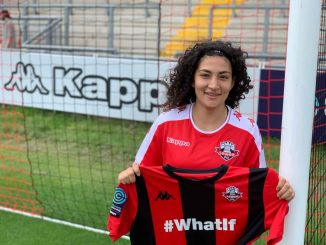 Cypriot international Filippa Savva signs for Lewes Wmen.