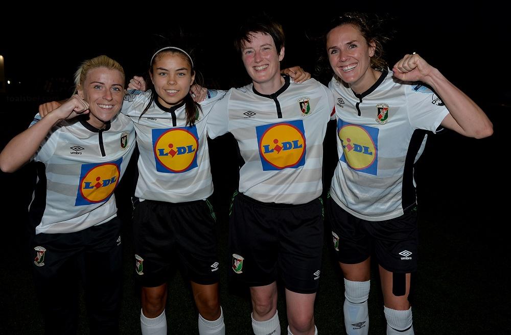 Glentoran's goalscorers in the Electric Ireland Cup semii-final.