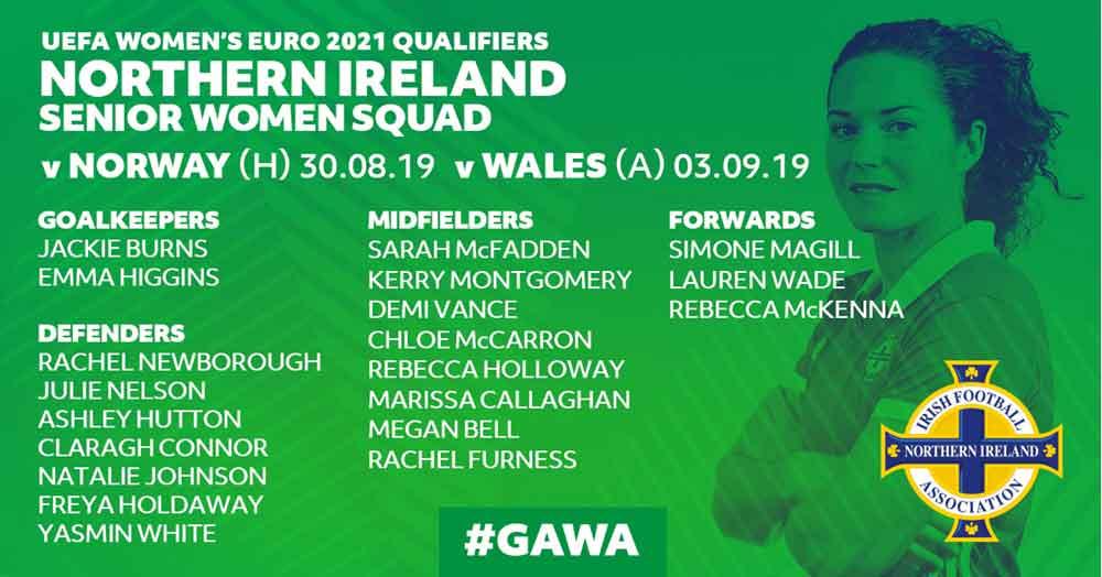 Northern Ireland squad list
