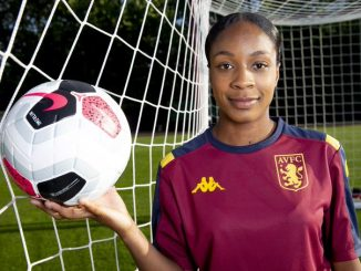 Aston Villa's hat-trick hero, Melissa Johnson