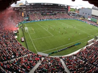 Portland Thorns's NWSL record-breaking crowd.