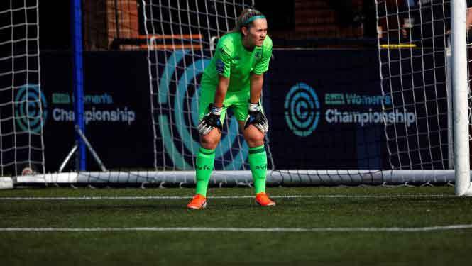 Aston Villa goalkeeper Sian Rogers