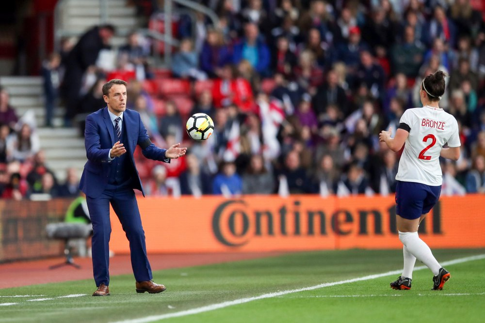 Phil Neville and Lucy Bronze make shortlists for awards.