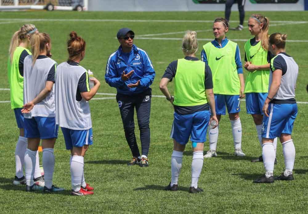 Brighton head coach, Hope Powell