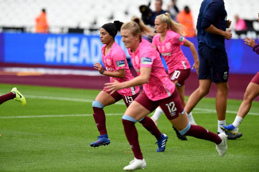 West Ham where Brest Cancer Now shirts
