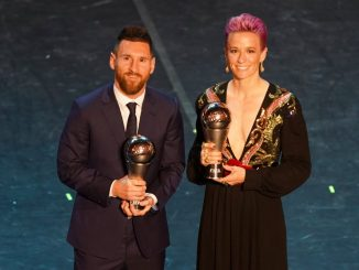 Male and female The Best FIFA Player award winners
