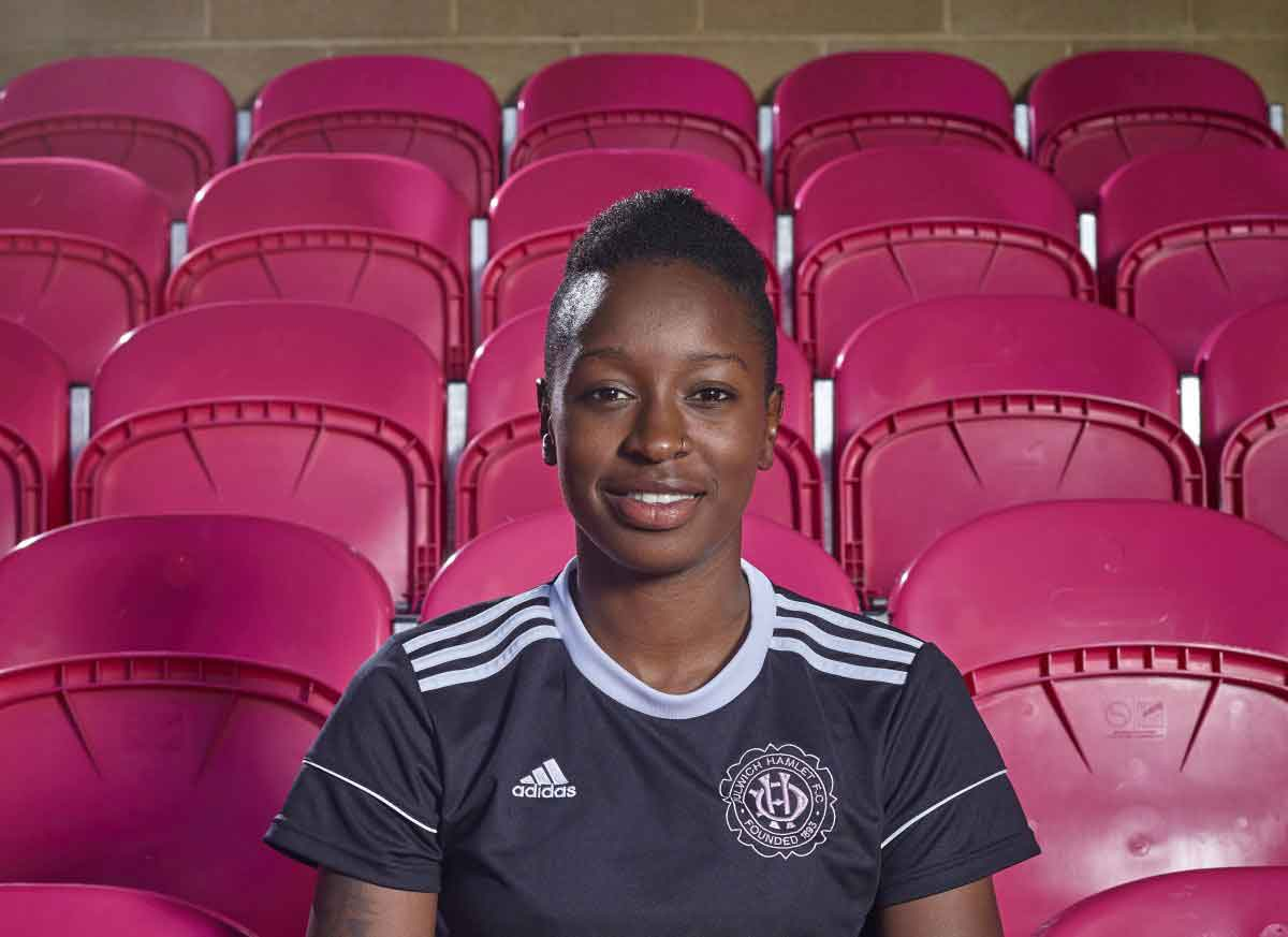 Michaella Williams of Dulwich Hamlet
